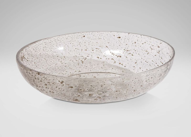 Pitted Glass Bowl ,  , large_gray