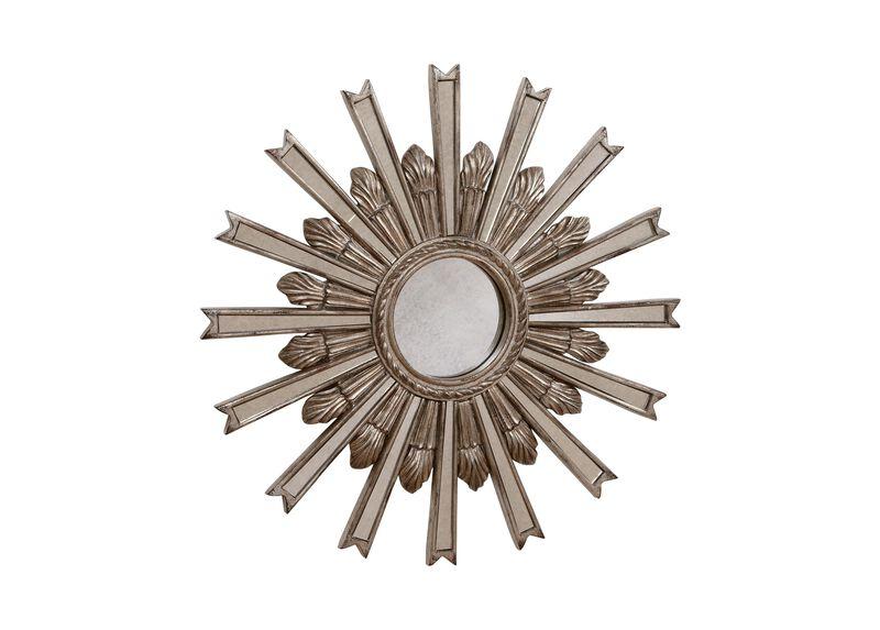 """20"""" Silver Starburst Mirror ,  , large_gray"""