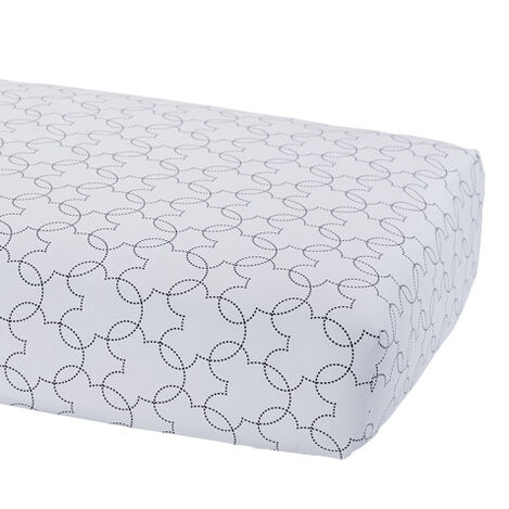 Mickey Mouse Dash Crib Sheet, Mickey's Ears ,  , large