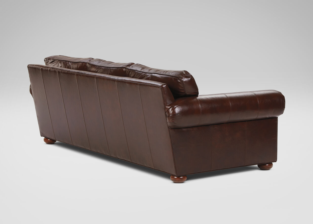 Old Sofa Richmond In Stock Leather Sofa Old English Chocolate
