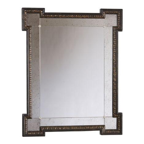 Miroir Turret à Craquelures Noires ,  , large