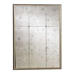 Miroir Mural à Rosette ,  , large