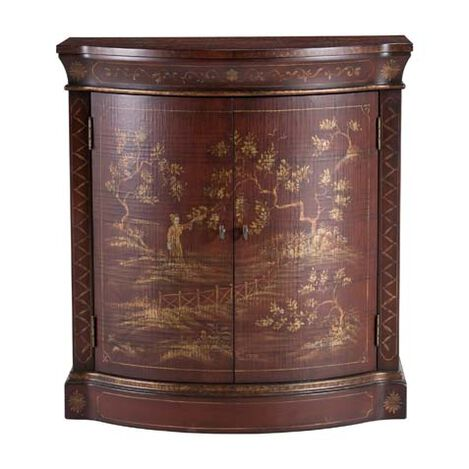 Ruby Chinoiserie Cabinet ,  , large