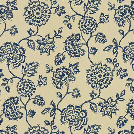 Dominica Indigo Fabric ,  , large