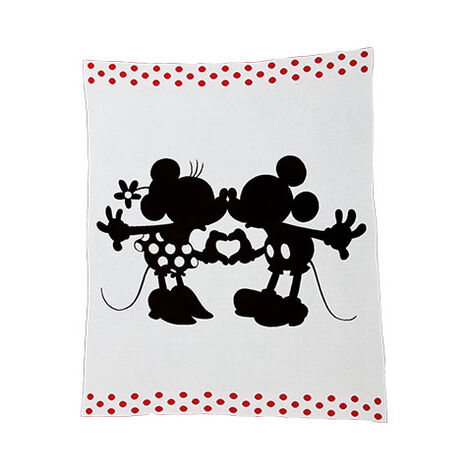 Perfect Pair Knit Throw, Mickey's Ears ,  , large