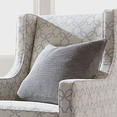 Glimmer Pillow, Silver ,  , hover_image