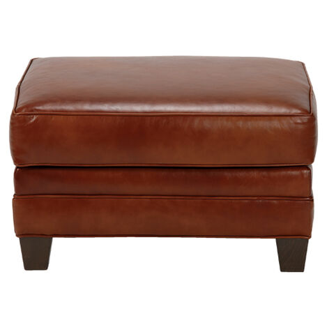 Dean Leather Ottoman ,  , large