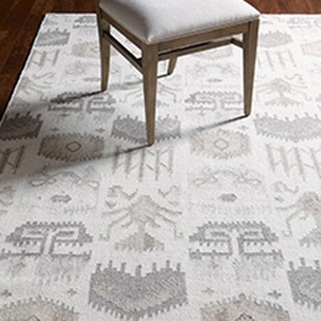 Tribal Mosaic Rug, Ivory/Multi ,  , hover_image