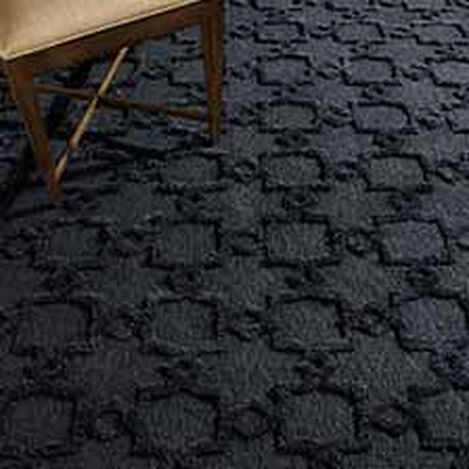 Lattice Soumak Rug, Black ,  , hover_image