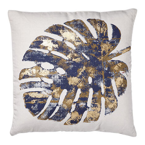 Gilded Leaf Pillow ,  , large