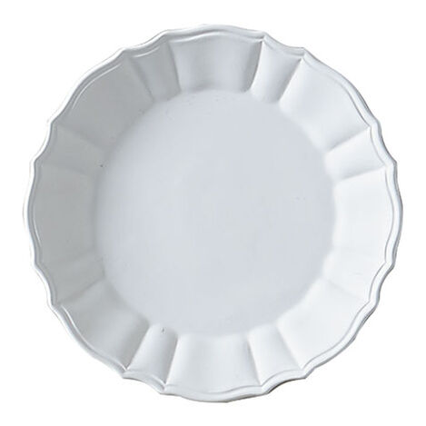White Victorian Wall Plate ,  , large