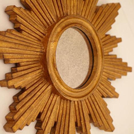 Miroir en forme d'étoile dorée 67cm ,  , hover_image