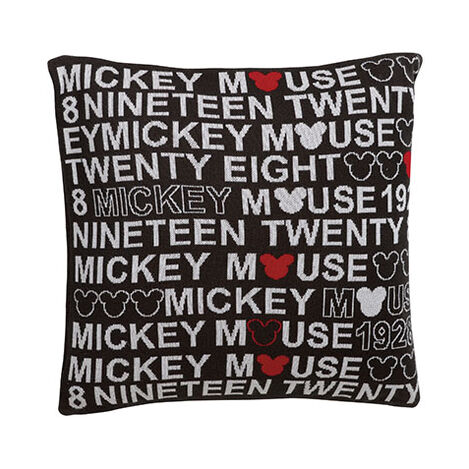 1928 Knit Pillow, Mickey's Ears ,  , large