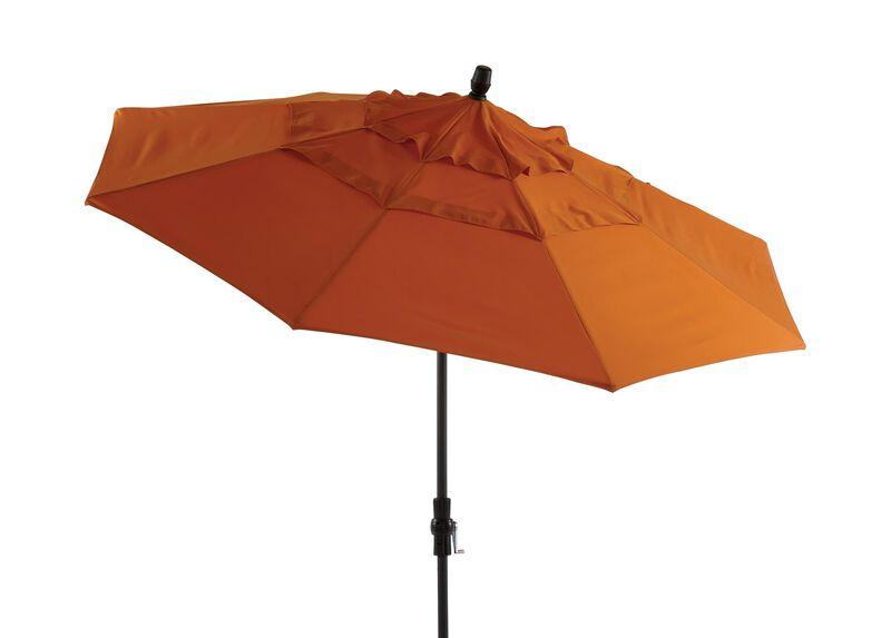 Tuscan Sun Round Market Umbrella ,  , large_gray