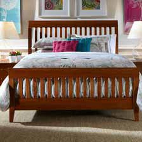 Teagan Sleigh Bed ,  , hover_image