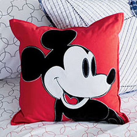 Color Block Mickey Pillow, Mickey's Shorts ,  , hover_image