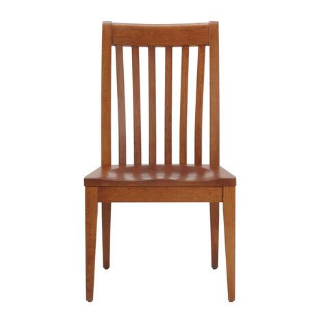 Teagan Wood-Seat Side Chair ,  , large