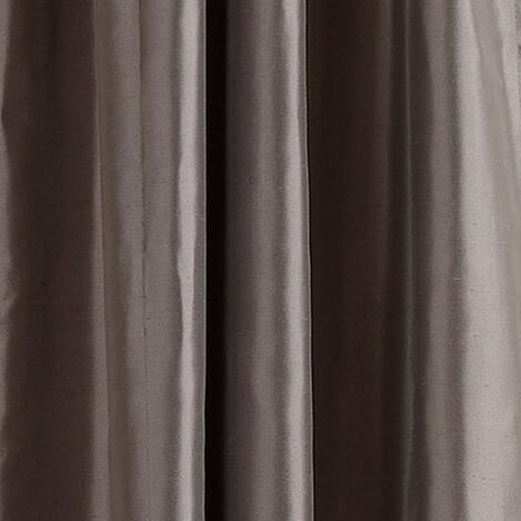 Charcoal Satin Dupioni Fabric ,  , large