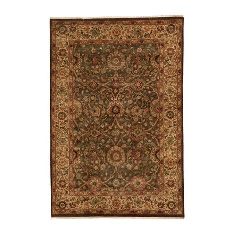 Agra Rug, Brown/Gold ,  , large