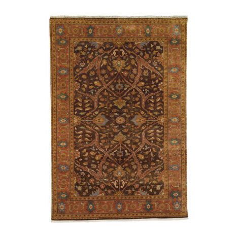 Heriz Rug, Brown/Rust ,  , large