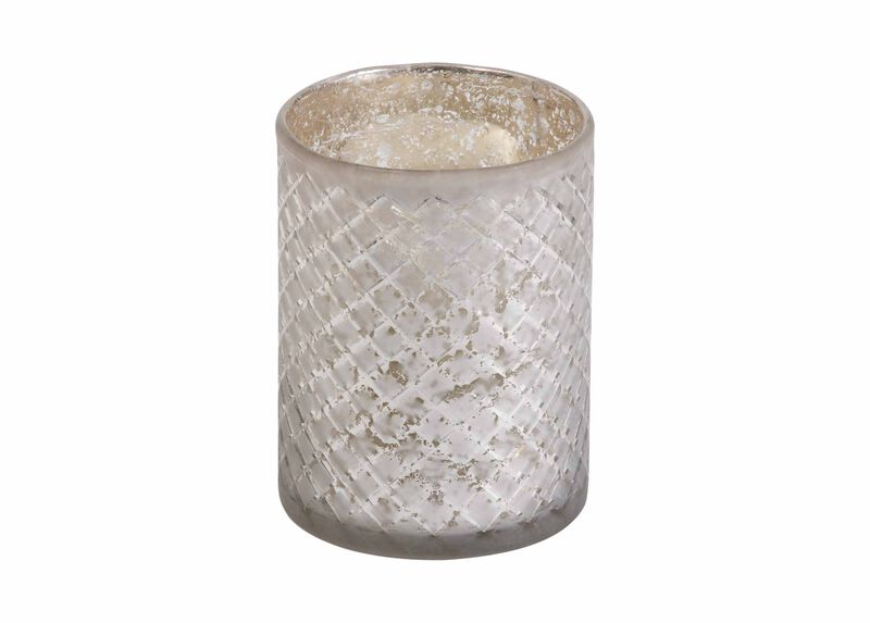 Diamond-Etched Glass Hurricane ,  , large_gray