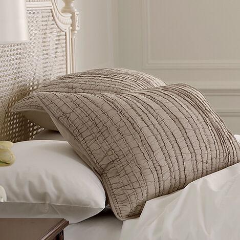 Housse décorative pour oreiller en patchwork voile Josette ,  , large