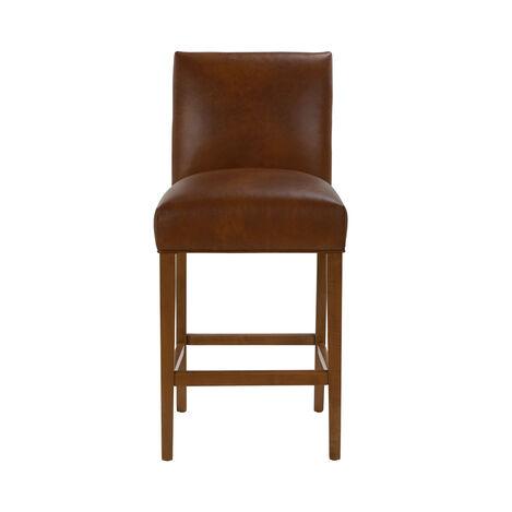 Thomas Leather Barstool ,  , large