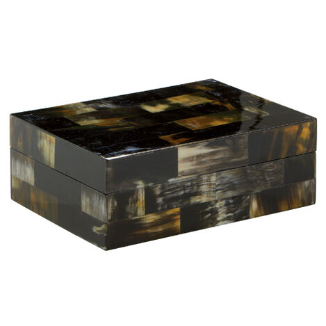 Dark Horn Inlay Box ,  , large