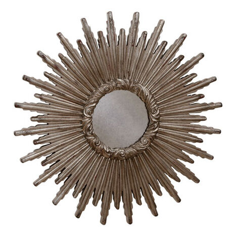 Miroir en forme d'étoile argentée 61cm ,  , large
