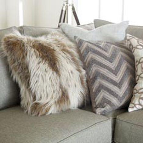 Lynx Faux Fur Pillow ,  , hover_image