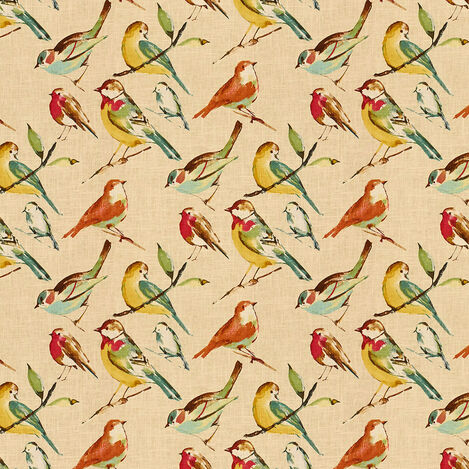 Tweety Poppy Fabric ,  , large