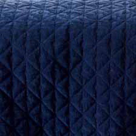 Gresham Navy Velvet Coverlet and Shams ,  , hover_image