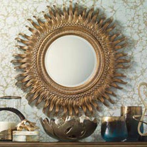 Miroir en Forme de Soleil Rayonnant ,  , hover_image