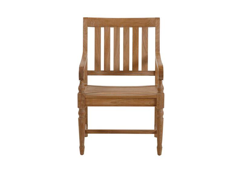 Millbrook Wood-Seat Armchair ,  , large_gray