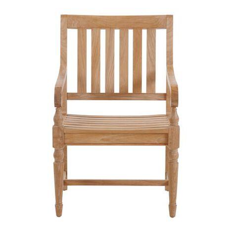 Millbrook Wood-Seat Armchair ,  , large