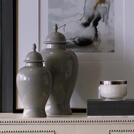 Small Gray Temple Jar ,  , hover_image