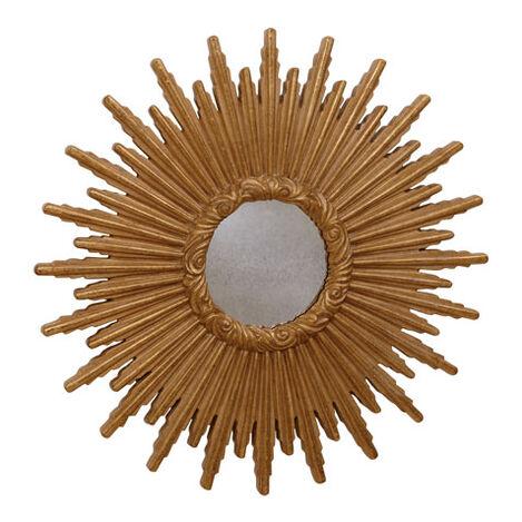 Miroir en forme d'étoile dorée 61cm ,  , large