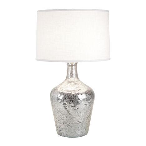 Small Silver Ice Plum Jar Lamp ,  , large