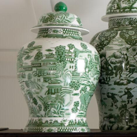 Large Green Ginger Jar ,  , hover_image
