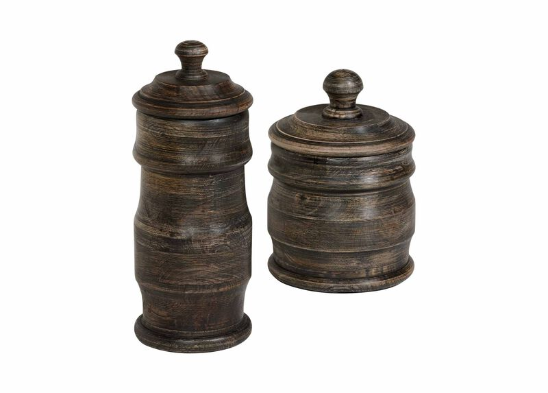 Dana Black Canisters ,  , large_gray