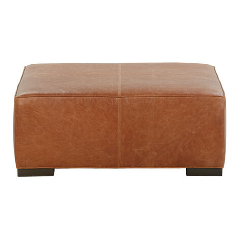 Miles Leather Cocktail Ottomans ,  , large
