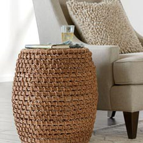 Heather Woven Stool ,  , hover_image