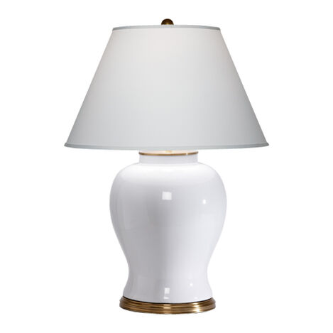 Keeley White Table Lamp ,  , large
