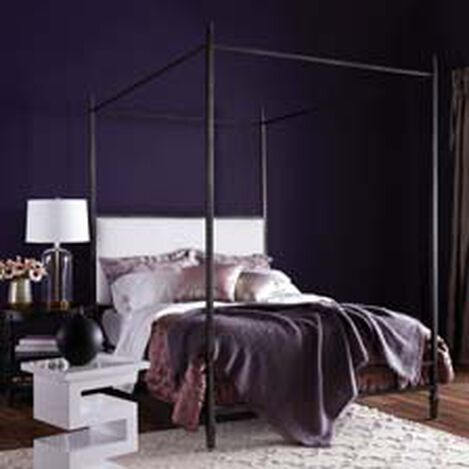Lincoln Upholstered Poster Bed ,  , hover_image