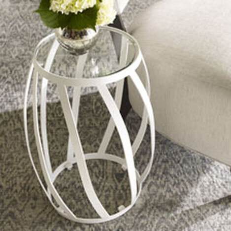 White Twist Table ,  , hover_image