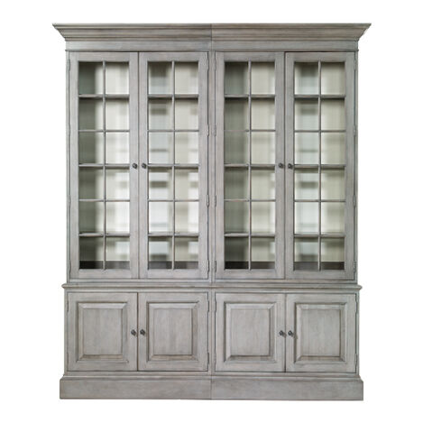 Villa Double Library Bookcase ,  , large