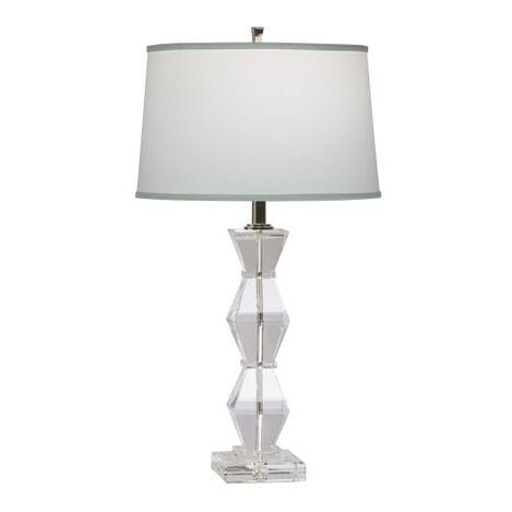 Lampe de Table Géométrique en Cristal ,  , large