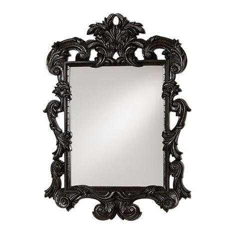 Black Ornate Mirror ,  , large