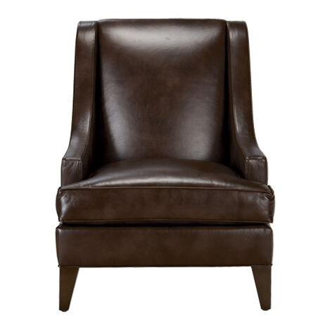 Emerson Leather Chair, Quick Ship ,  , large