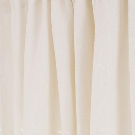 Ivory Sayre Washed Linen Fabric ,  , large